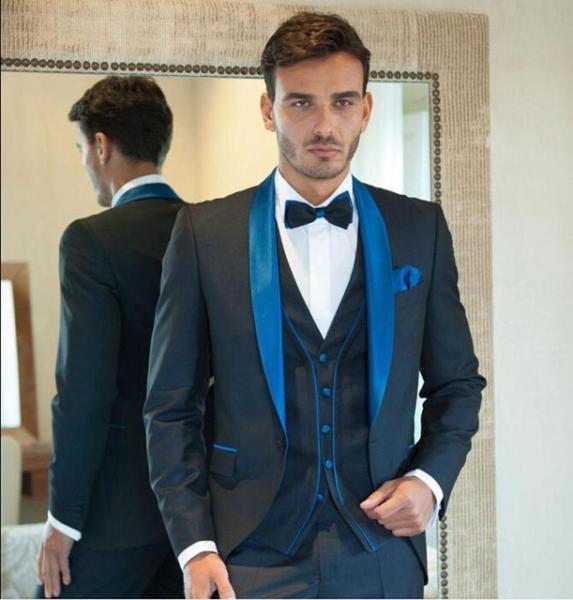 Как выбрать свадебный мужской костюм?