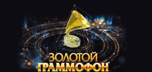 «Золотой граммофон» – что ждать от церемонии в этом году