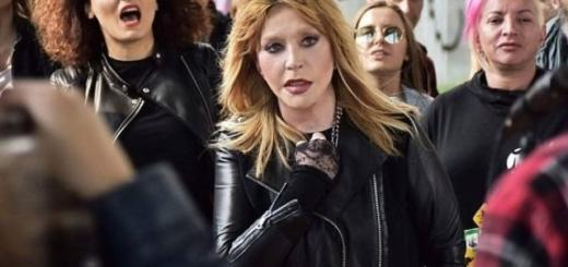 В косухе и рваных джинсах: Алла Пугачева стала рокершей в новом клипе Алишера