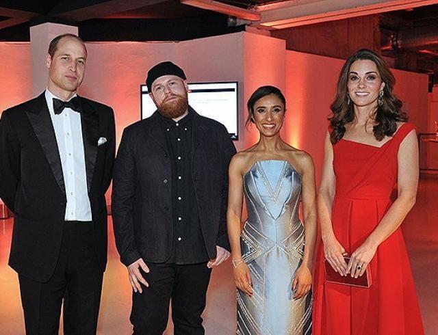 Ослепительные образы Кейт Миддлтон и Меган Маркл на ужине Royal Foundation