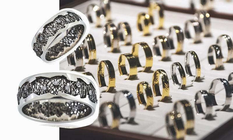Особенное украшение: 8 роскошных обручальных колец