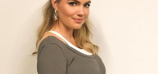 Модель Кейт Аптон впервые стала мамой!