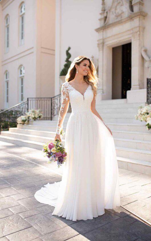 Как выбирать платье для венчания?