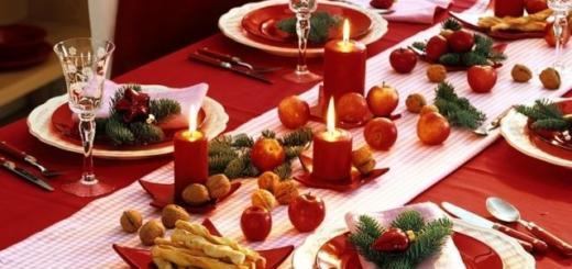 Собираем новогодний стол по звездным рецептам (ЭКСКЛЮЗИВ)