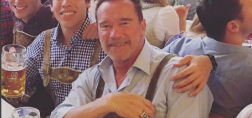 Зачем сын Арнольда Шварценеггера повторил знаменитый снимок отца (ФОТО)