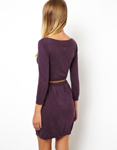 Чем уникально вязанное платье?