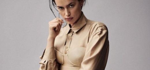 Ирина Шейк в стильных образах украсила сразу две обложки бразильского Vogue (ФОТО)
