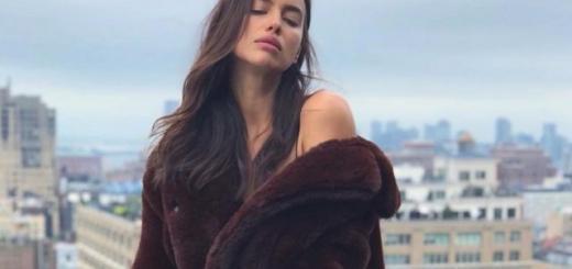 Ирина Шейк похвасталась купальником из новой коллекции Burberry (ФОТО)