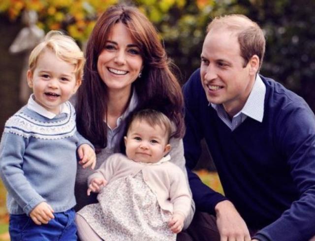 Семейная прогулка на природе: Кейт Миддлтон и принц Уильям с детьми и племянниками (ФОТО+ВИДЕО)