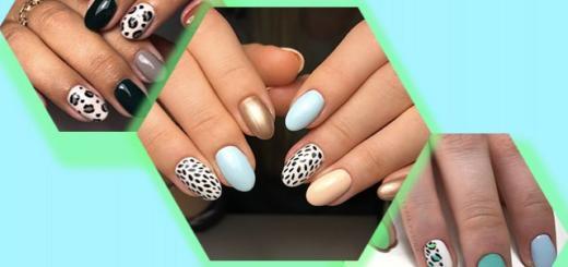 Анималистический маникюр: модный дизайн ногтей
