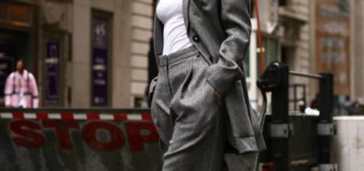 5 причин, почему брючный костюм никогда не выйдет из моды