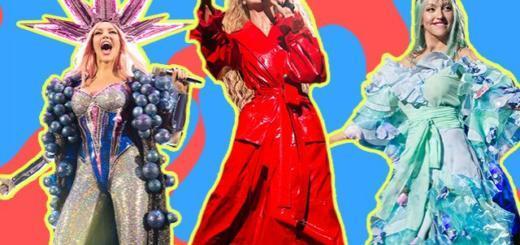 """Выбираем лучший сценический образ Оли Поляковой в шоу """"Королева ночи"""" (ГОЛОСОВАНИЕ)"""