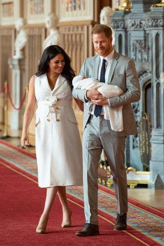 Меган Маркл и принц Гарри познакомили сына с тетей и дядей