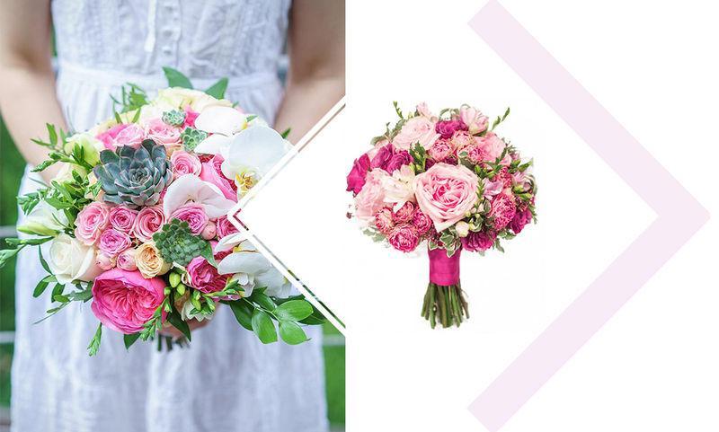 5 свадебных букетов для тех, кто уже определился с выбором жениха