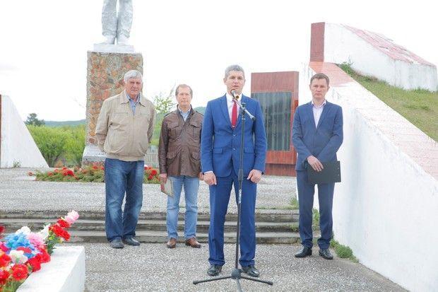 Виктор Шкулев откроет первый мемориал в память о выживших в войне