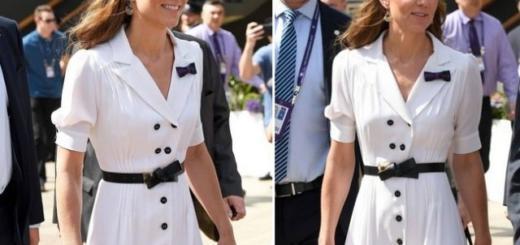Кейт Миддлтон появилась на Уимблдонском турнире: новый выход герцогини