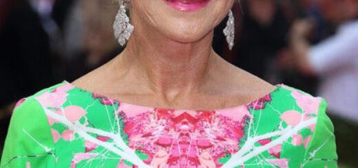 Хелен Миррен в цветочном платье стала звездой на премьере фильма