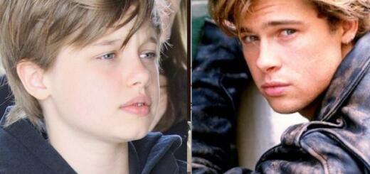 Стало известно, почему старшая дочь Анджелины Джоли хочет жить с отцом