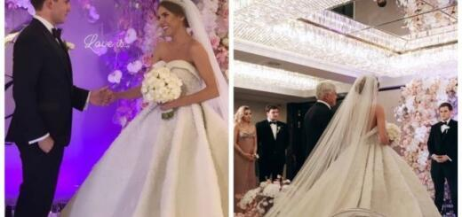 Ассоль вышла замуж в платье весом 23 килограмма: подробности роскошной свадьбы певицы (ФОТО+ВИДЕО)