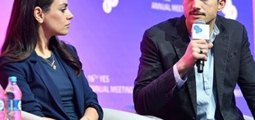 Очень неожиданно! Робин Райт, Мила Кунис и Эштон Катчер посетили Киев и встретились с Владимиром Зеленским (ФОТО)