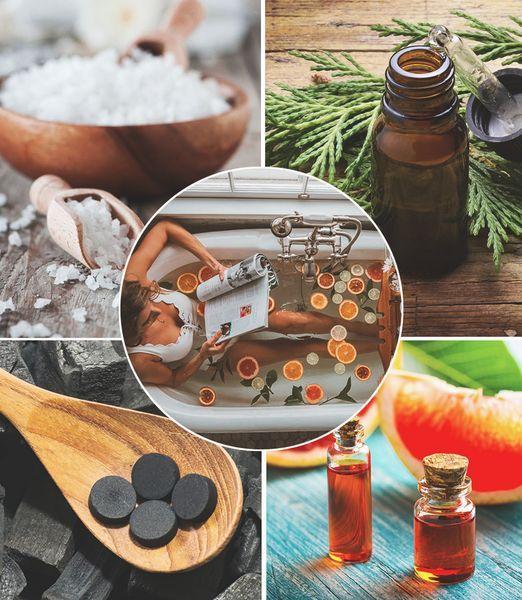 9 рецептов ванн для холодных вечеров