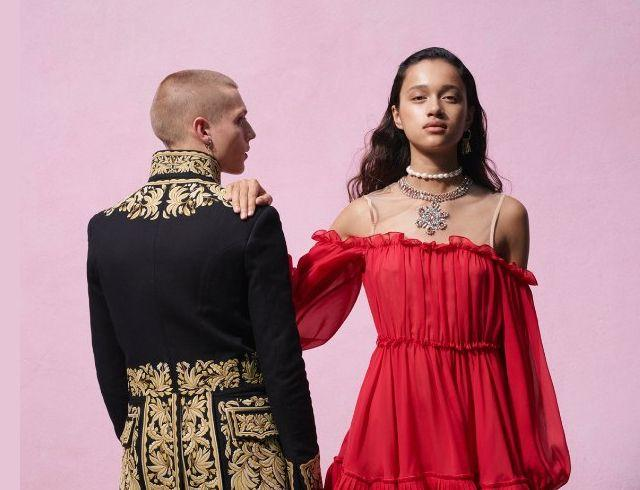 Эклектический шик: H&M показал совместную коллекцию с итальянским брендом Giambattista Valli (ФОТО)