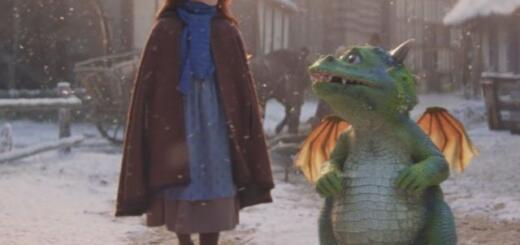 Популярно в Сети: рождественское видео о драконе и рыжей девочке