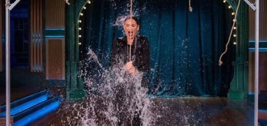 На шоу Урганта Бузову облили ледяной водой и нашли ей женихов