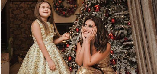 Арфа и купальник: что еще дети звезд просят у Деда Мороза