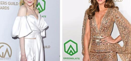 Николь Кидман, Брэд Питт иЕва Лонгория накрасной дорожке церемонии Producers Guild Awards 2020 (ФОТО)
