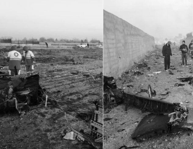 Украинский самолет с 180 людьми на борту разбился в Иране: подробности трагедии