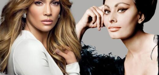 Дженнифер Лопес снялась в образе Софи Лорен для новой рекламной кампании Guess