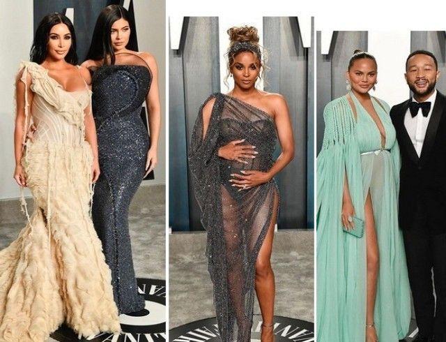 """С """"Оскара"""" на вечеринку журнала Vanity Fair: стильные образы звезд"""