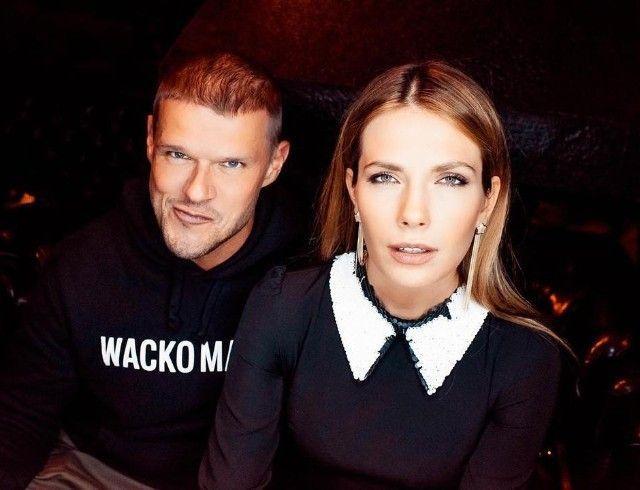 Антонина Паперная и Владимир Яглыч появились на обложке журнала и впервые показали дочь