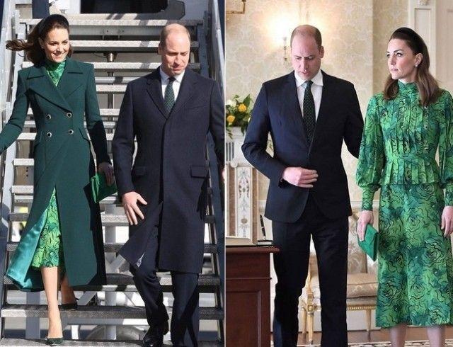 Герцоги Кембриджские прилетели с 3-дневным официальным визитом в Ирландию (ФОТО+ВИДЕО)