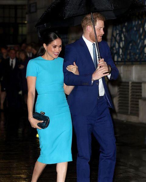 Endeavour Fund Awards: Меган Маркл и принц Гарри впервые после отказа от королевских обязанностей вместе появились на публике