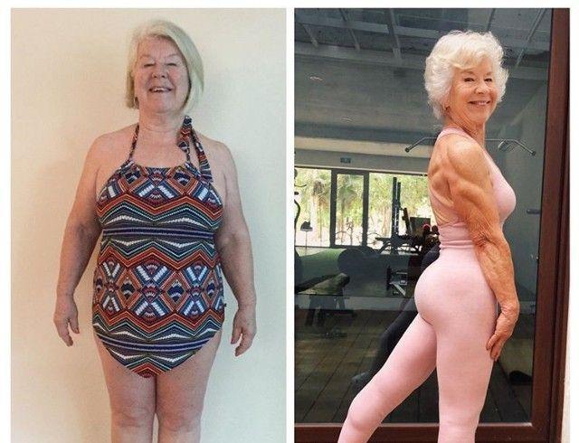 Бабушка с идеальной фигурой взорвала интернет (ФОТО)