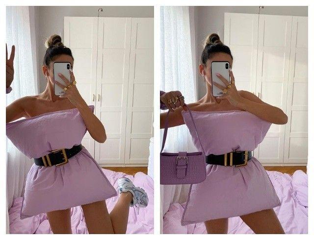 Instagram-тренды: как модные образы с подушками захватили Сеть (ФОТО)
