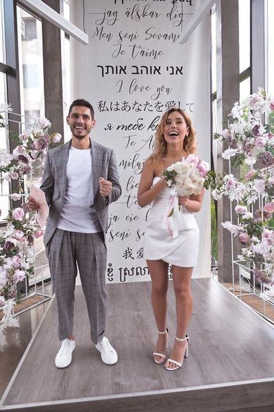 Just married: Никита Добрынин и Даша Квиткова официально стали мужем и женой