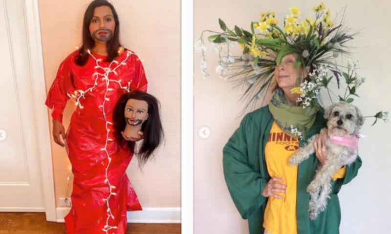 Платья MetGala из бумаги, скотча и футболки