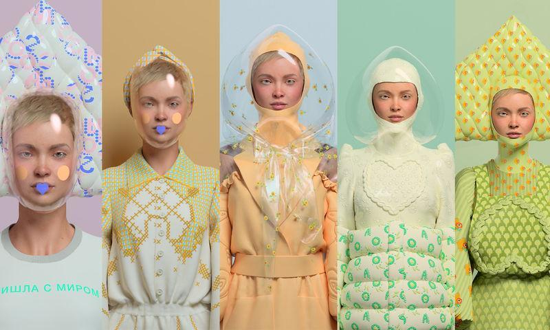 С прицелом на будущее: Алена Ахмадуллина создала виртуальную коллекцию одежды