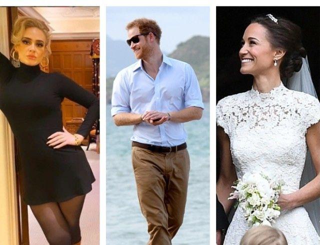 Сиртфуд-диета: как похудели Адель, принц Гарри и Пиппа Миддлтон