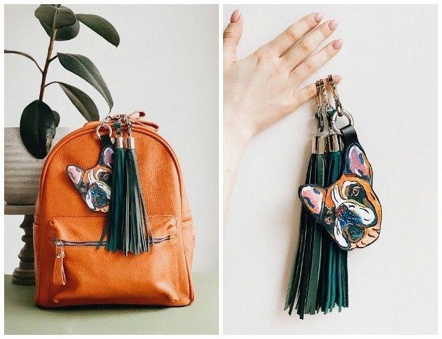 Друг, который всегда с тобой: брелки с росписью от Ozerianko bags (ФОТО)
