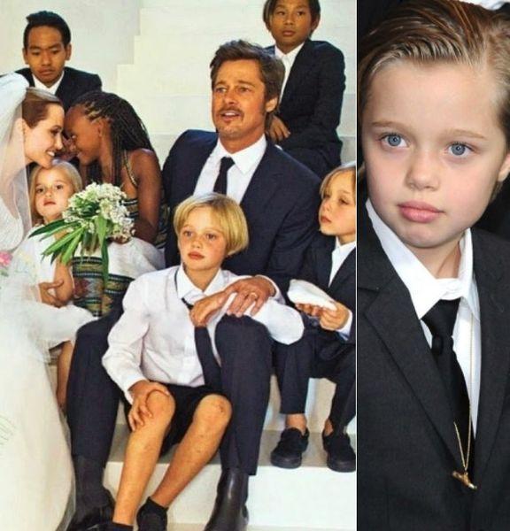 СМИ: еще один ребенок Джоли и Питта хочет сменить пол