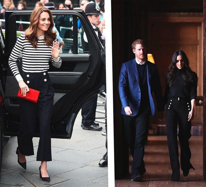9 раз, когда Меган и Кейт придерживались одного стиля
