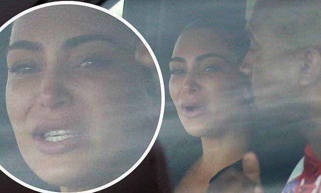 В глазах истерика и слезы: Ким Кардашьян приехала к Канье Уэсту после скандального заявления о разводе (ФОТО)