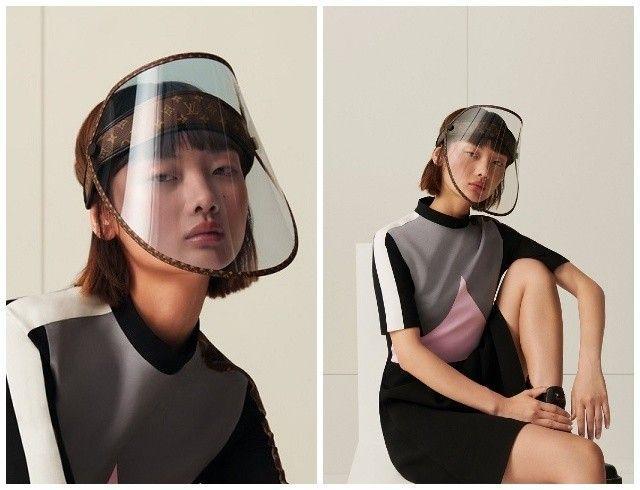 Защита от дождя, солнца и коронавируса: Louis Vuitton выпустили стильные щиты для лица (ФОТО)