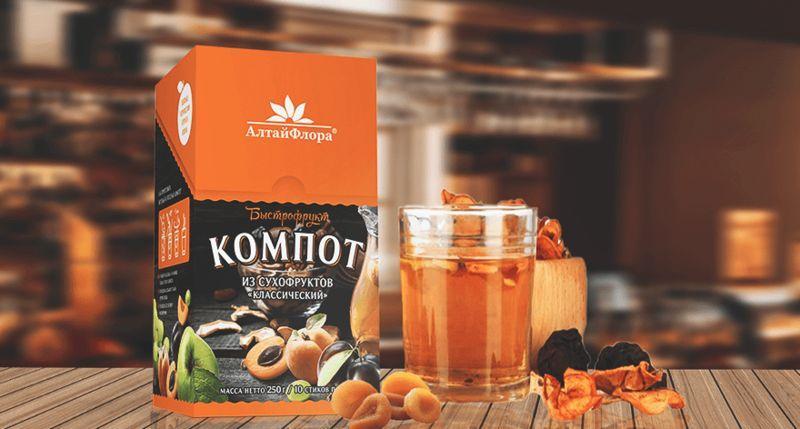3 экологически чистых и вкусных напитка от компании «АлтайФлора»