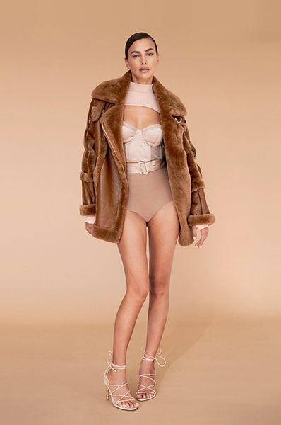 Ирина Шейк показала роскошную фигуру в новой рекламной кампании Nicole Benisti (ФОТО)